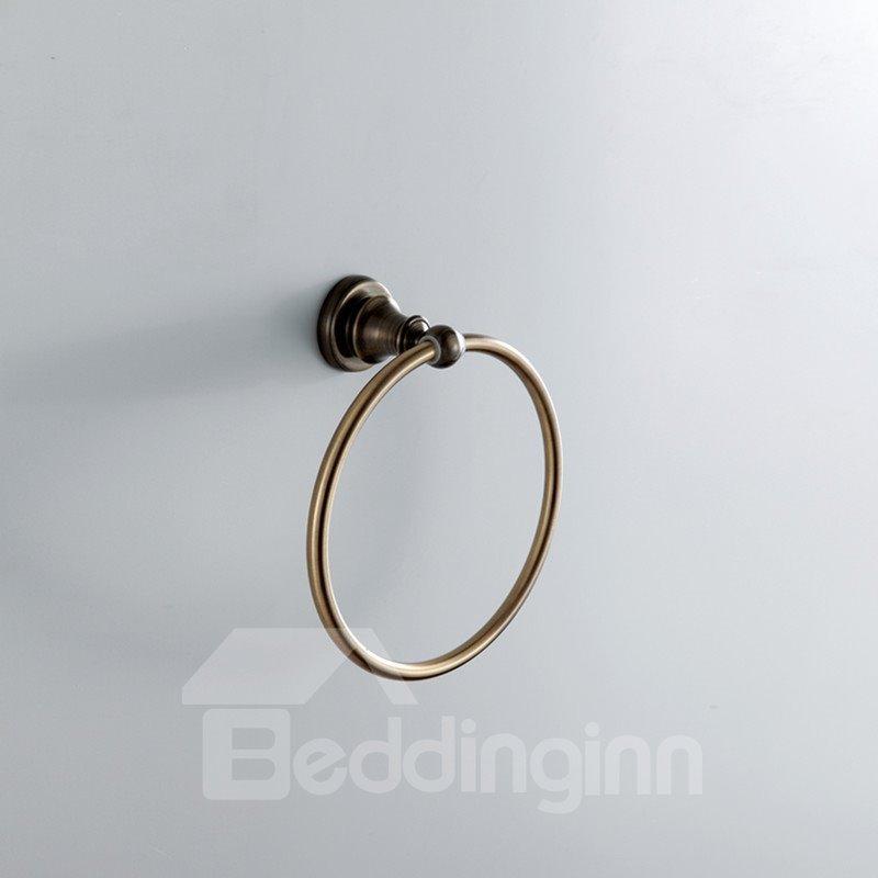 antique bronze wall mounted towel ring beddinginn