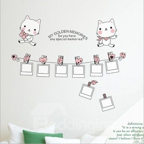 New Arrival Specail Memory and Lovely Cat Wall Stickers