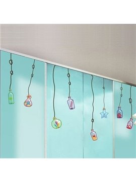New Arrival Drifting Bottles for Spreading Wish Wall Stickers