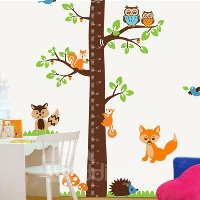 New Arrival Lovely Animal Print Wall Stickers