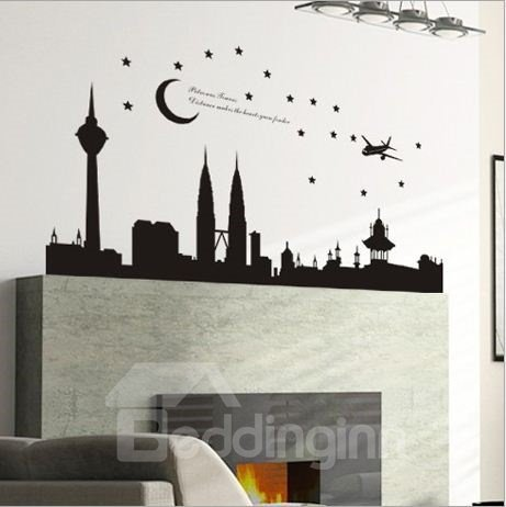 New Arrival Petronas Towers in Malaysia Wall Stickers