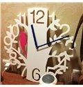 Amazing Creative Woodpecker Branch Pattern Decorative Wall Clock