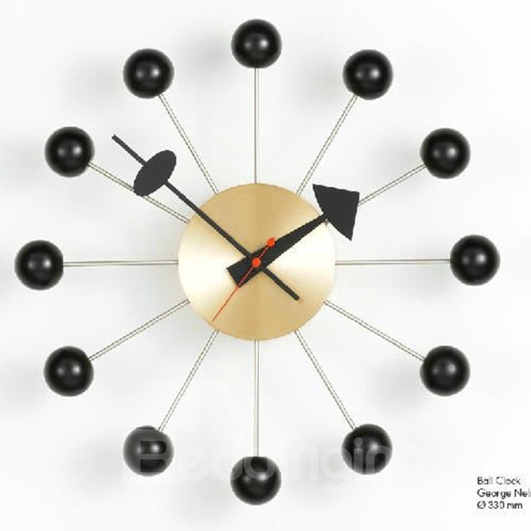 Amazing Modern Stylish Dots Round Wall Clock