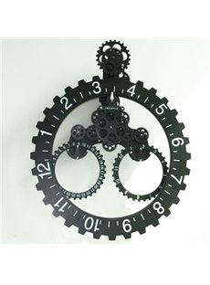 Amazing Creative European Style Gear Wall Clock