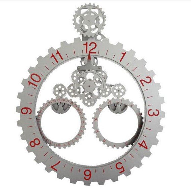 Amazing Creative European Style Gear Wall Clock