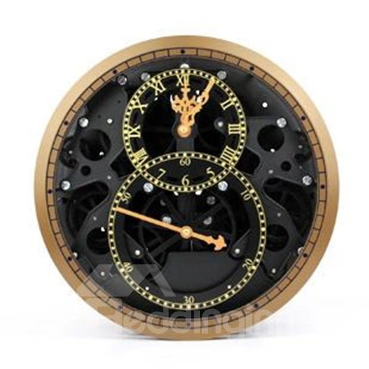 Amazing Creative European Retro Gear Wall Clock
