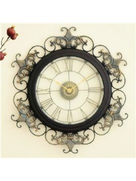 Hot Selling Allluring Antique Metal Wall Clock
