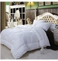 Super Soft White X-Long Twin 100% Cotton Down Filled Comforter W70 x L78