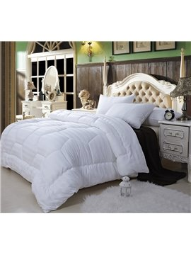 Super Soft White X-Long Twin 100% Cotton Down Filled Comforter(W70 x L78 )