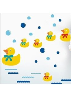 New Arrival Duck Swimming in Water Wall Stickers