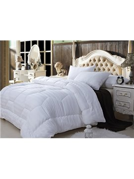 Super Soft White Queen 100% Cotton Down Filled Comforter W88 x L90