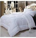 Super Soft White California King 100% Cotton Filled Comforter
