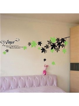 New Arrival Amorous Spring Wall Stickers