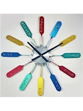Hot Selling Fashionable Creative Round DIY Wall Clock