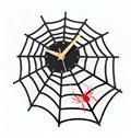 Amazing Creative Spider Web Acrylic Wall Clock