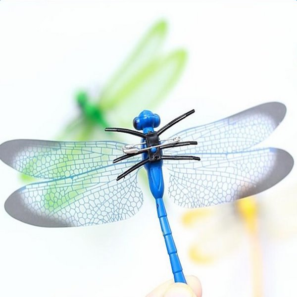 Beautiful Dragonflies Shape 4-piece Decorative Wall Stickers