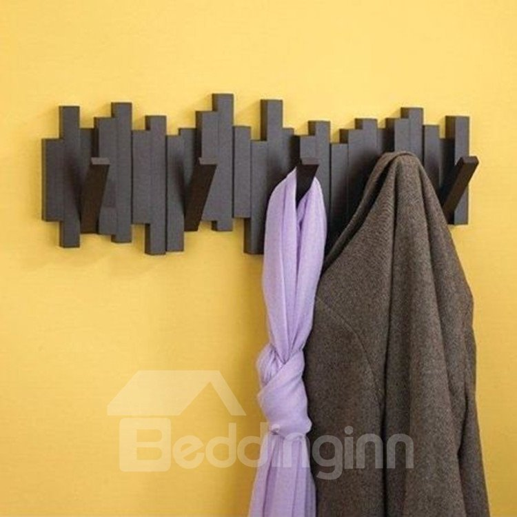 Modern fabulous creative sticks design hat and coat hook for Contemporary coat hooks