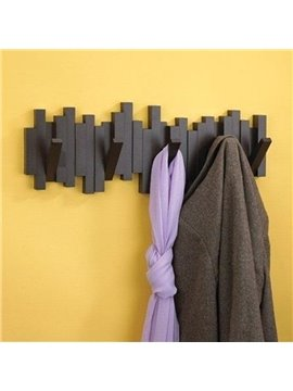 Modern Fabulous Creative Sticks Design Hat-and-Coat Hook