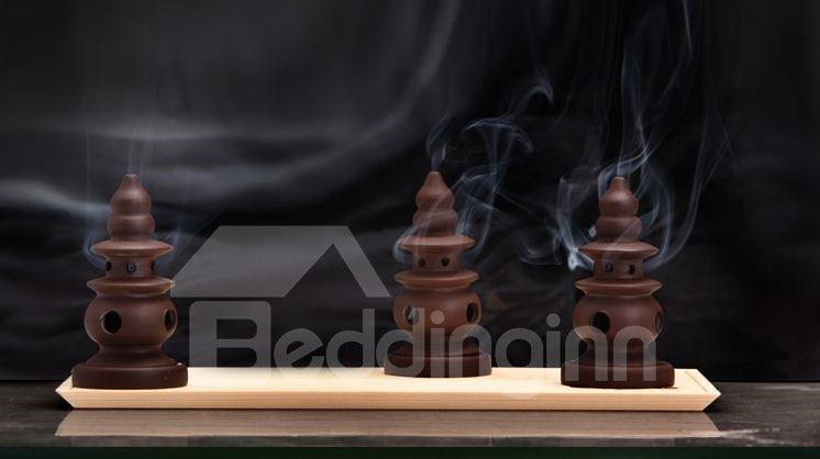 Hot Selling Elegant Creative Design Redware Incense Burner