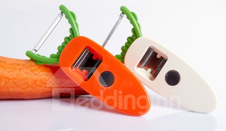 Elegant Cute Carrot Peeler Design Fridge Magnet