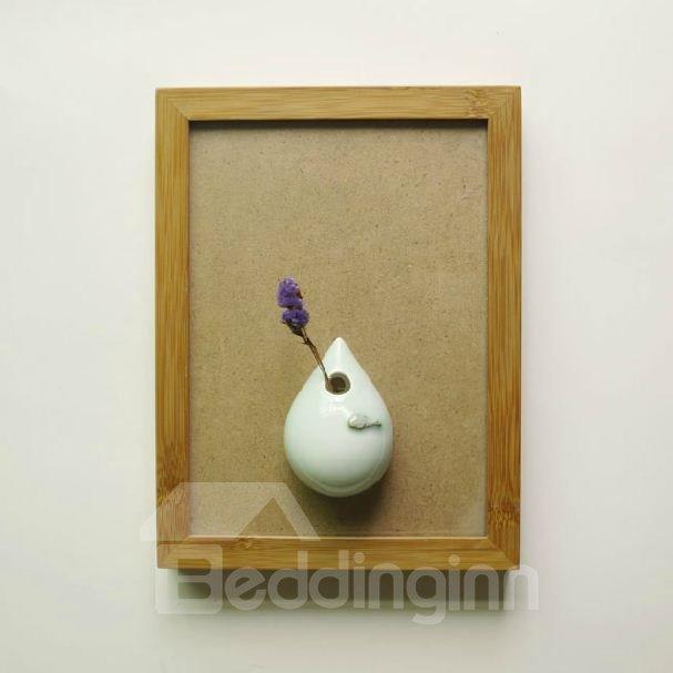 Creative Simple Style Elegant Big and Small Drop Design Vase