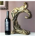 Stunning European Style Creative Leopard Shape Wine Rack