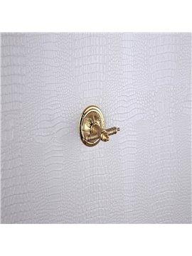 Antique Golden Brass Wall-mounted Robe Hook