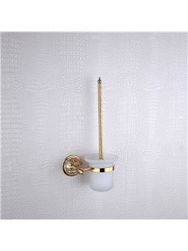 Toilet Brush Rack Brass Golden finish