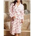 Top Selling Fancy Blooming Flowers Print Full Cotton Loungewear