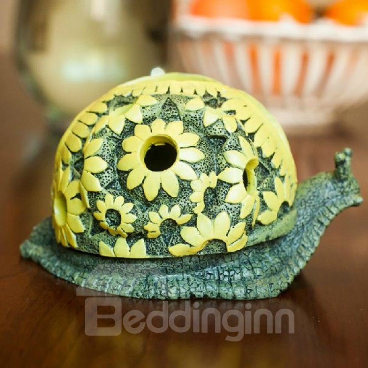 High Quality Fashionable Creative Snail Shape Resin Ashtray 10949937