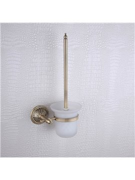 Toilet Brush Rack Brass Venetian Bronze