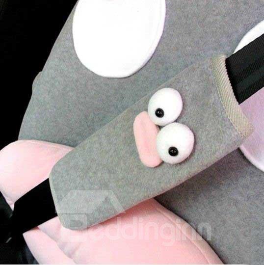 Lovely Fat Bird Cartoon Style Seat Belt Cover