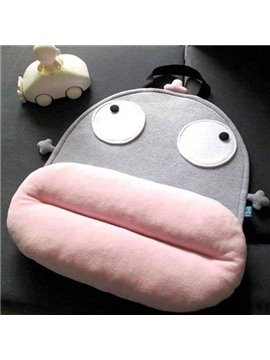 Big Face Doll Fancy Cute Cartoon Back Cushion