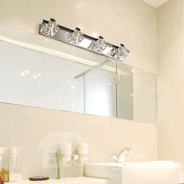 Fancy Modern Simple Crystal Metal Wall Light