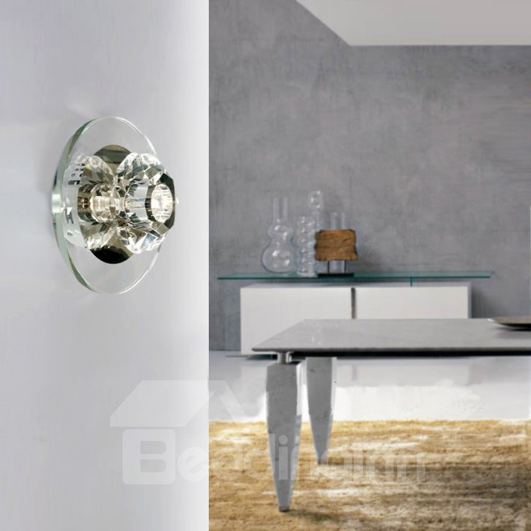 Modern Unique Style Glass Shade Wall Light