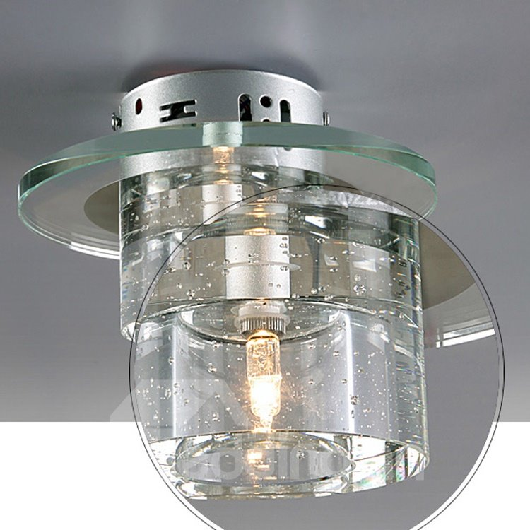 Elegant Unique Style Glass Shade Wall Light