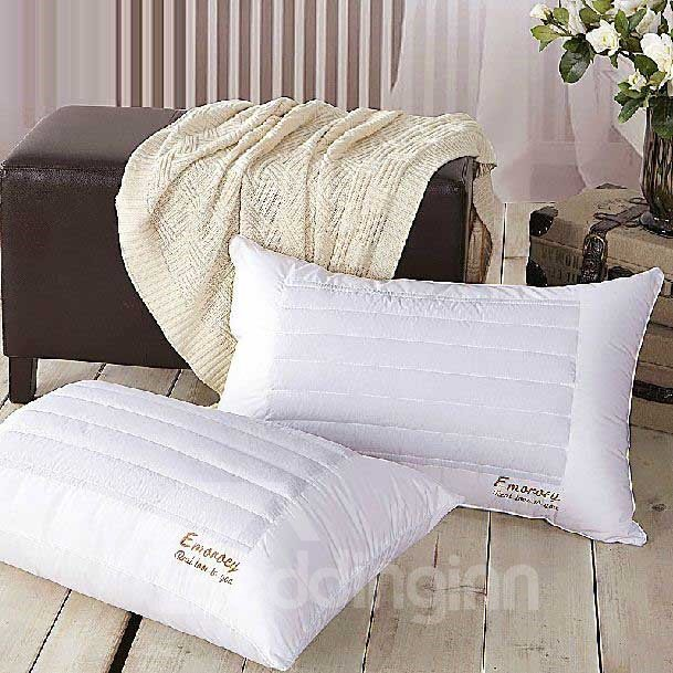 New Arrival Delicate Pure White Health Care Pillow