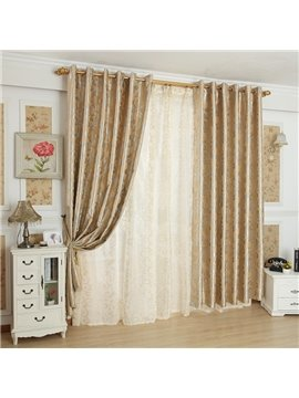 Amazing Luxurious Beautiful Patterns Grommet Top  Custom Curtain
