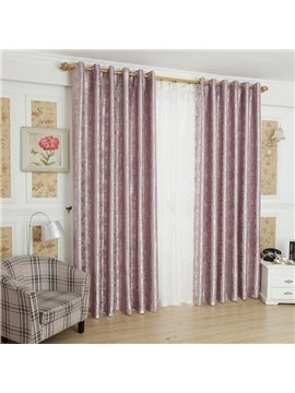 Elegant Luxurious Beautiful Patterns Grommet Top Curtain