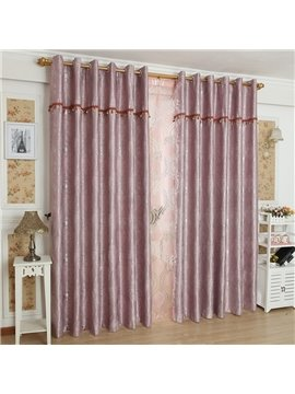 High Quality Pretty Patterns Grommet Top Custom Curtain