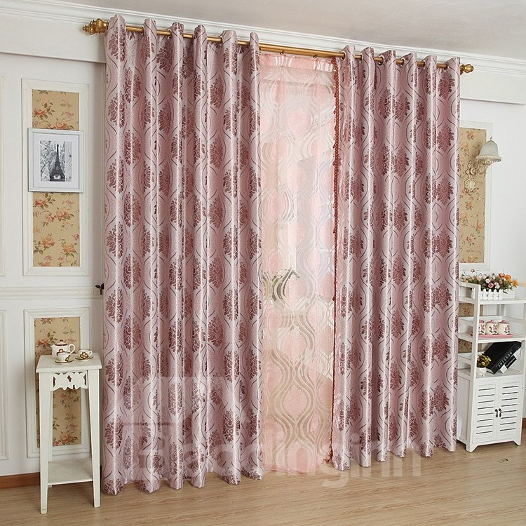 Fantastic Contemporary Beautiful Pattern Grommet Top Custom Curtain 10953158
