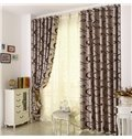 Amazing Contemporary Pretty Pattern Grommet Top Custom Curtain