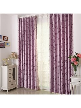 Fabulous Contemporary Pretty Pattern Grommet Top Custom Curtain