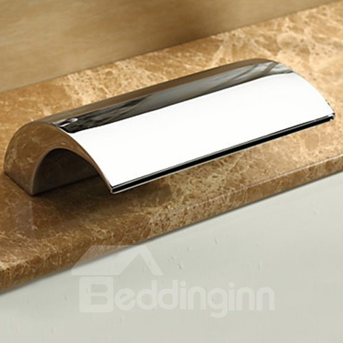High Quality Modern Style Two Handles Bathtub Faucet