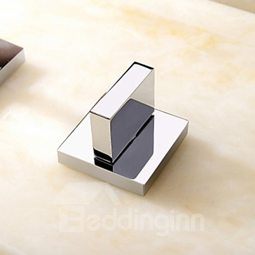 Comtemporary Style Chrome Finish Brass Bathtub Faucet
