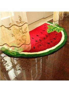 New Arrival Creative Cute Watermelon Design Floor Mat