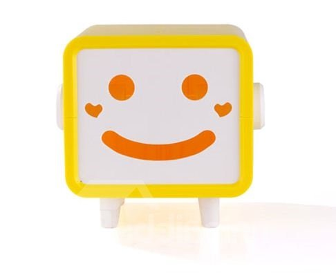 Hot Selling Amazing Smiling Face Design Creative Tissue Box