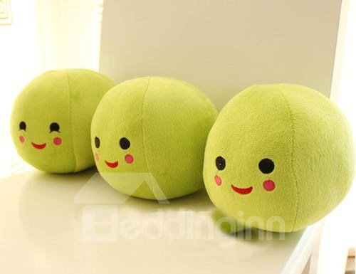New Creative Lovely Pea Pattern Travel Pillow