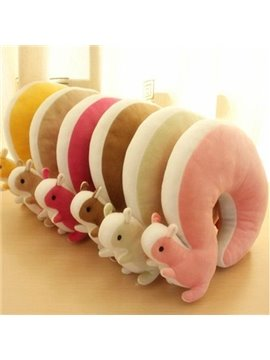Newest Creative Super Lovely Squirrel U Shape Travel Pillow