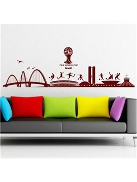 New Arrival Amazing City Buildings Wall Stickers